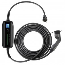 Type 2 charger adjustable current 10/16A With LCD Screen