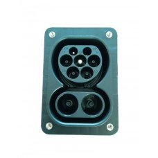 CCS Type 2 150A socket / connector for electric vehicle