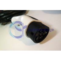 Type 2 plug tethered cable, 3 phase, 22kw, 5 meter