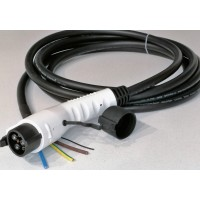 Type 1 tethered cable, single phase, 5 meter